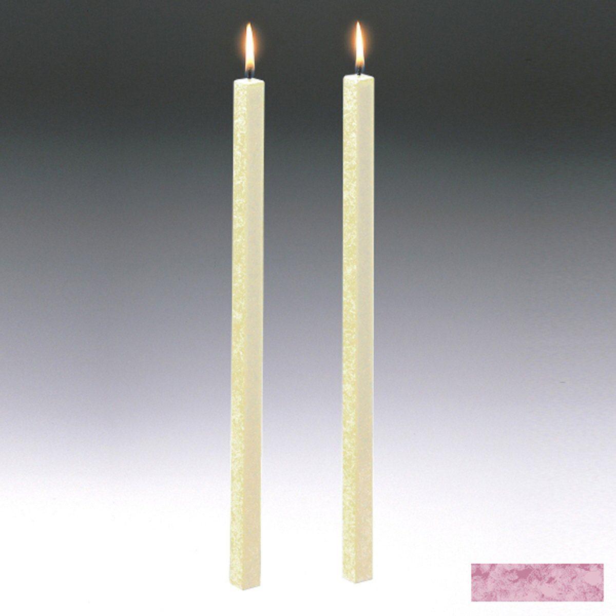 Amabiente Amabiente Kerze CLASSIC Malve 40cm - 2er Set