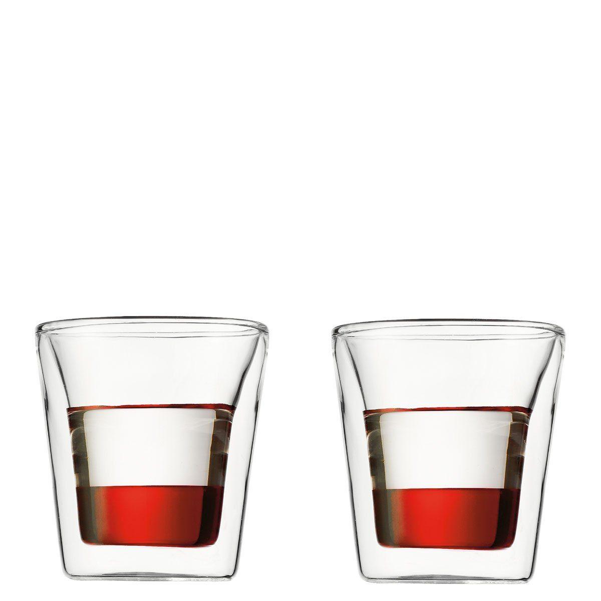 Bodum Bodum CANTEEN Glas doppelwandig 0.1 l - 2er Set