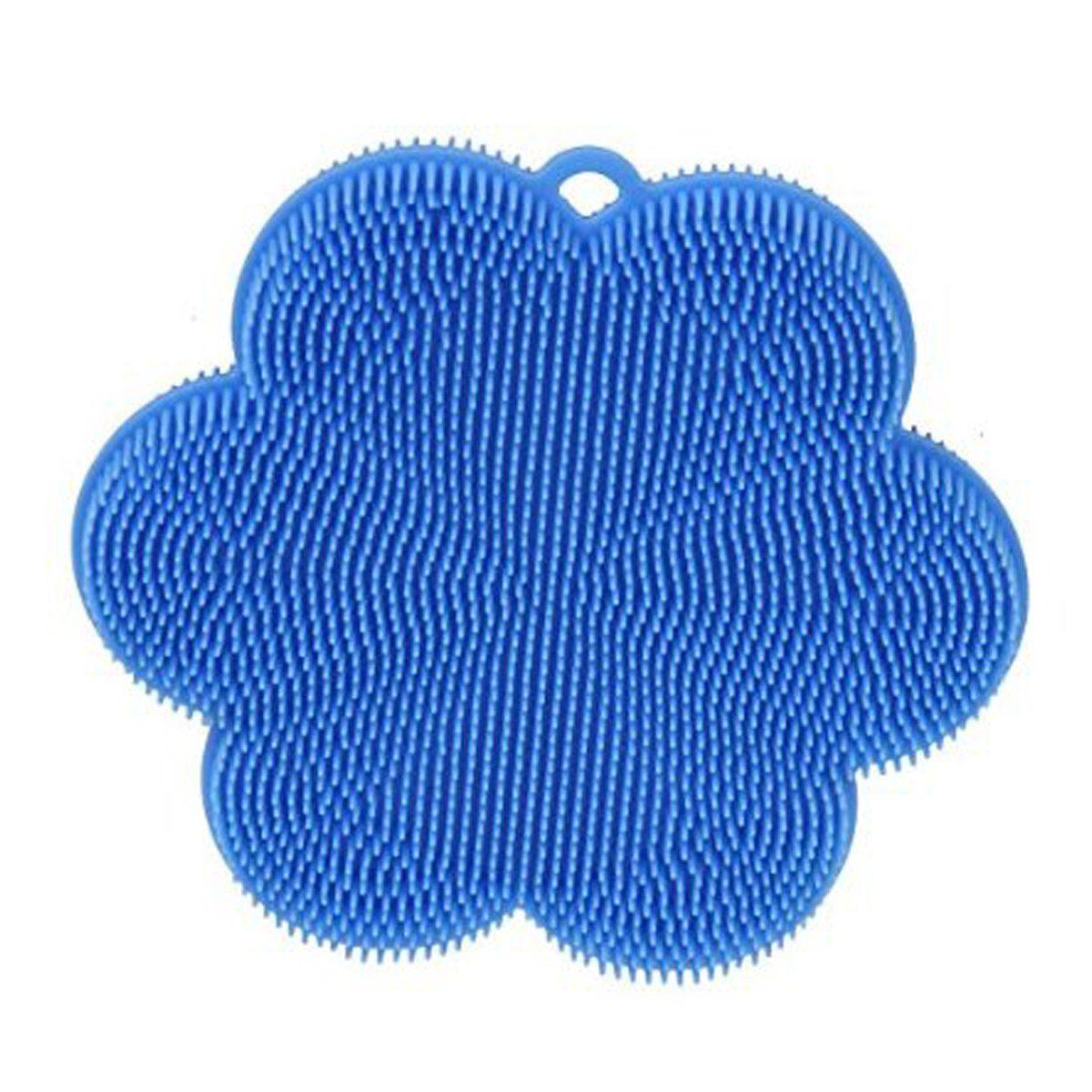 Kochblume SWISCH Silikonschwamm und Fusselbürste hellblau