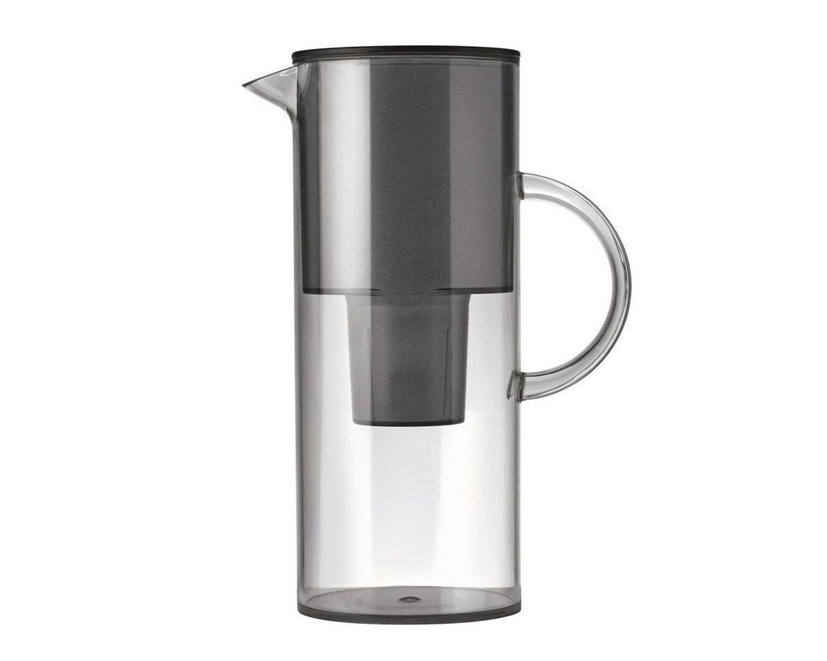 Stelton Stelton EM Wasserfilterkanne 2 l smoke   Küche und Esszimmer > Küchengeräte > Wasserfilter   Grau   Abs   Stelton