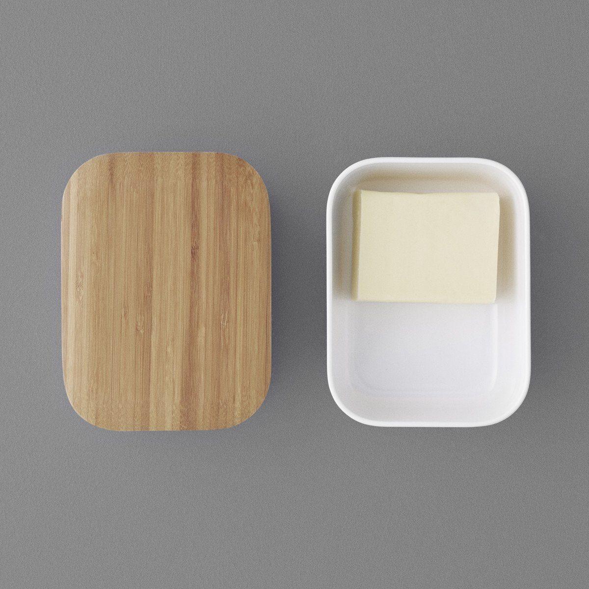 Stelton RIG-TIG BOX-IT Butterdose, gräulich