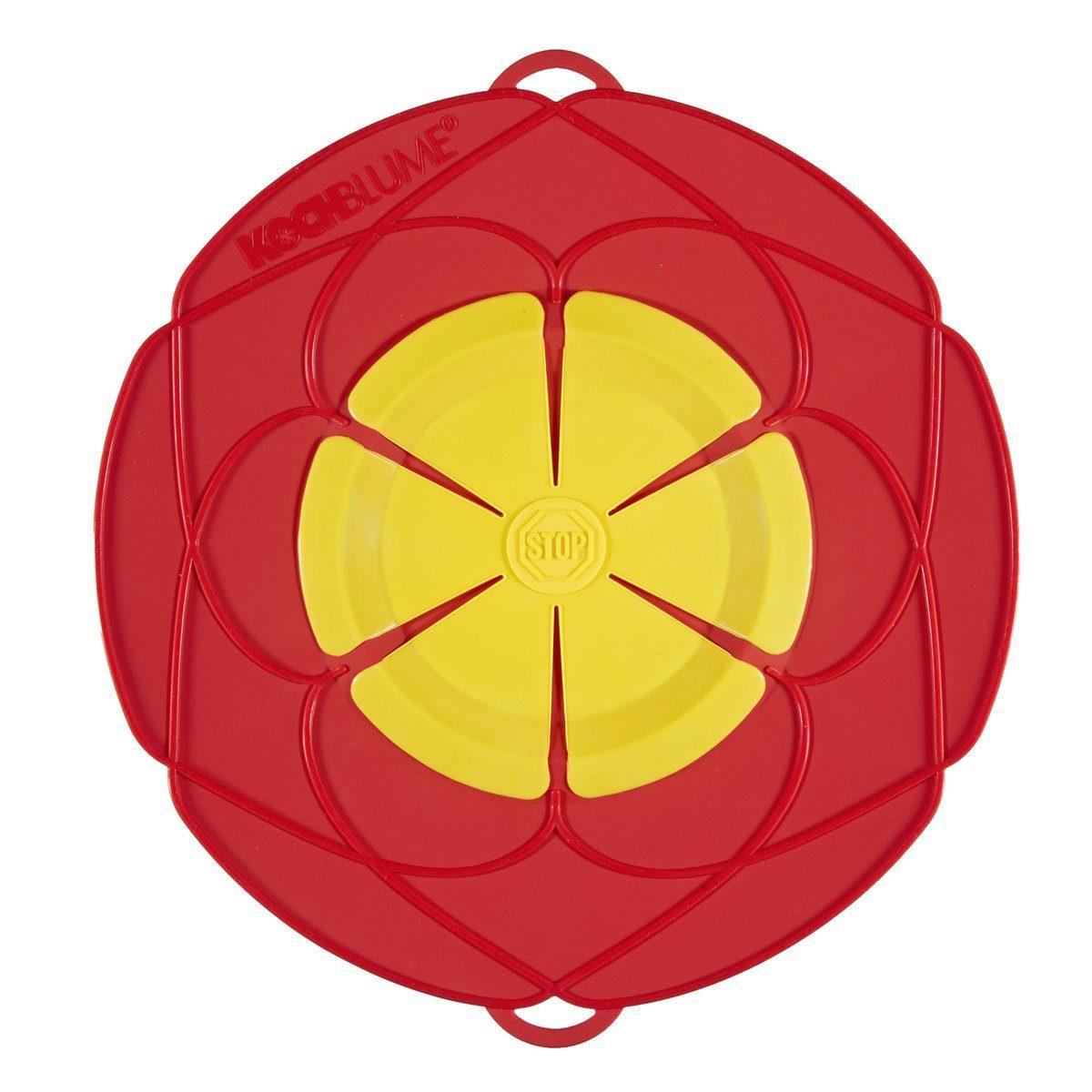 Kochblume Kochblume Überkochschutz rot-gelb 25.5 cm