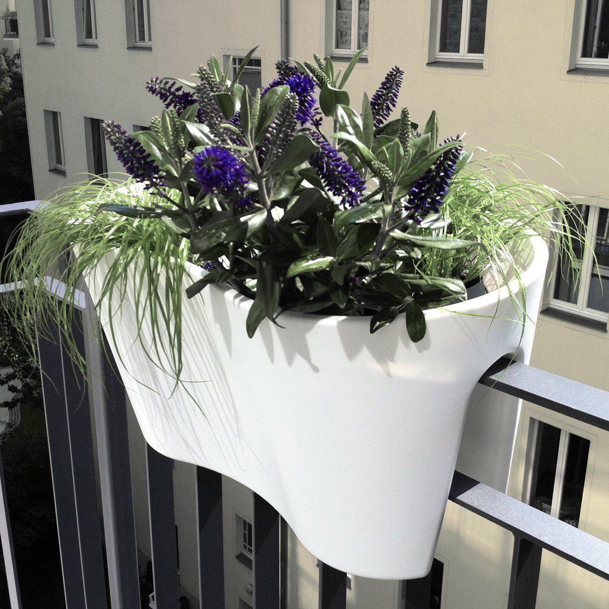 REPHORM rephorm Blumenkasten STECKLING DUO weiß