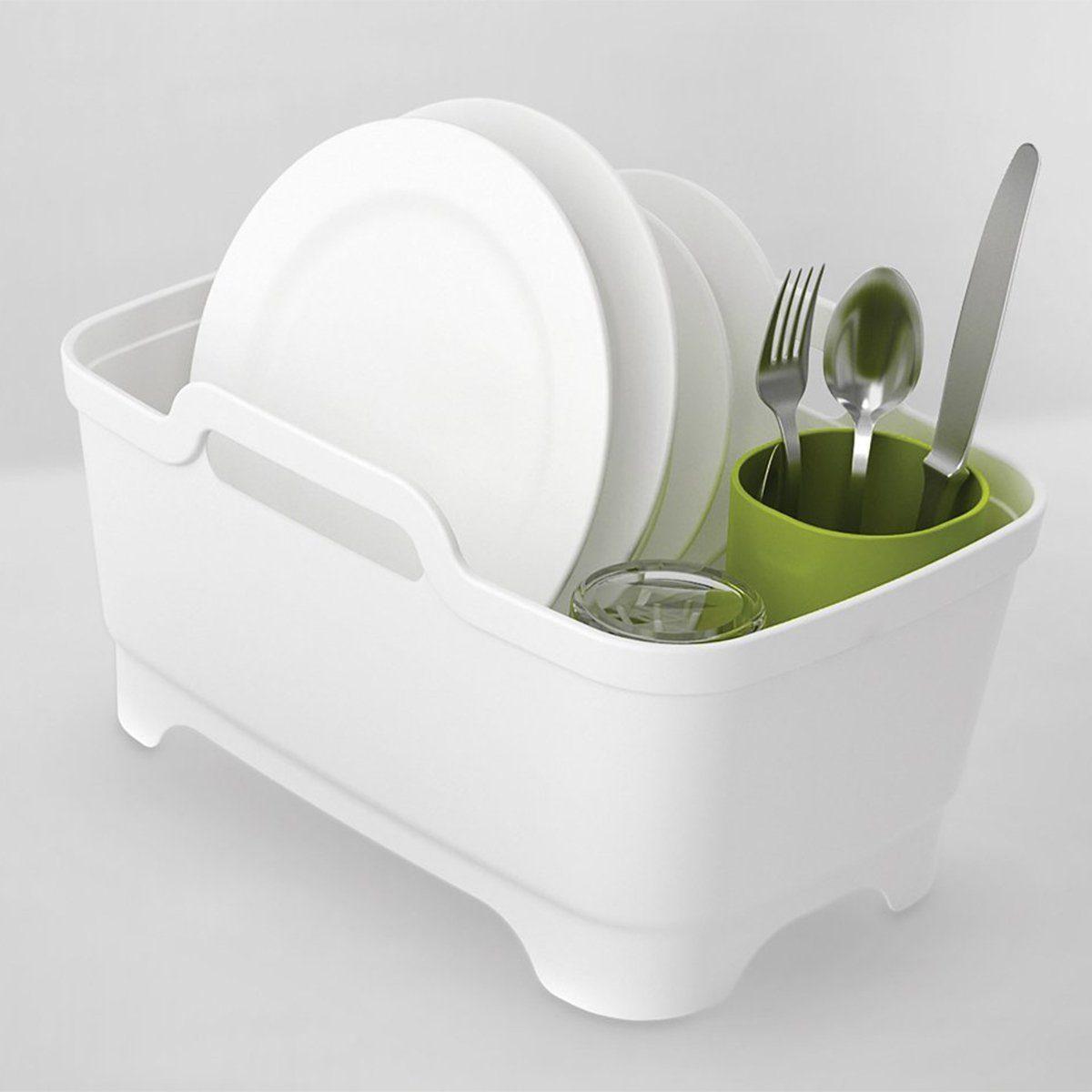 JosephJoseph Geschirrspülwanne Wash&Drain Plus weiß-grün