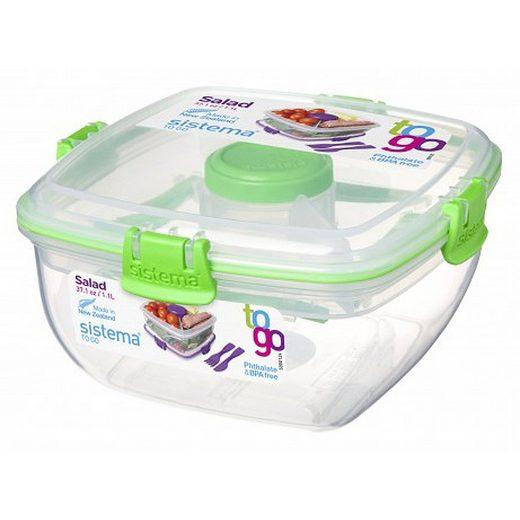 sistema sistema Salatbox To Go, grün