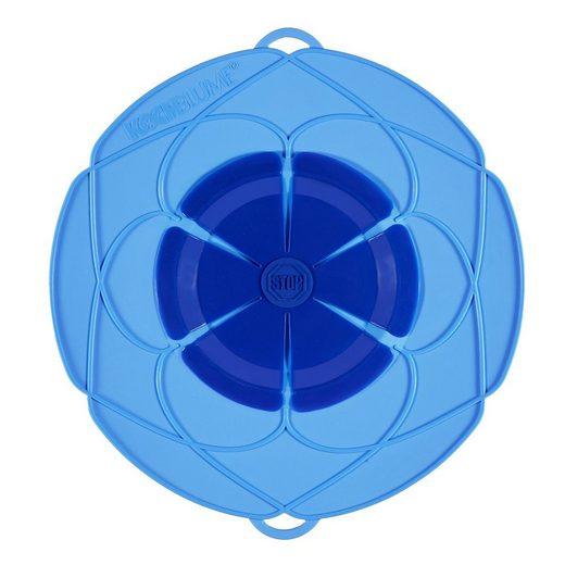 Kochblume Kochblume Überkochschutz blau 25.5 cm