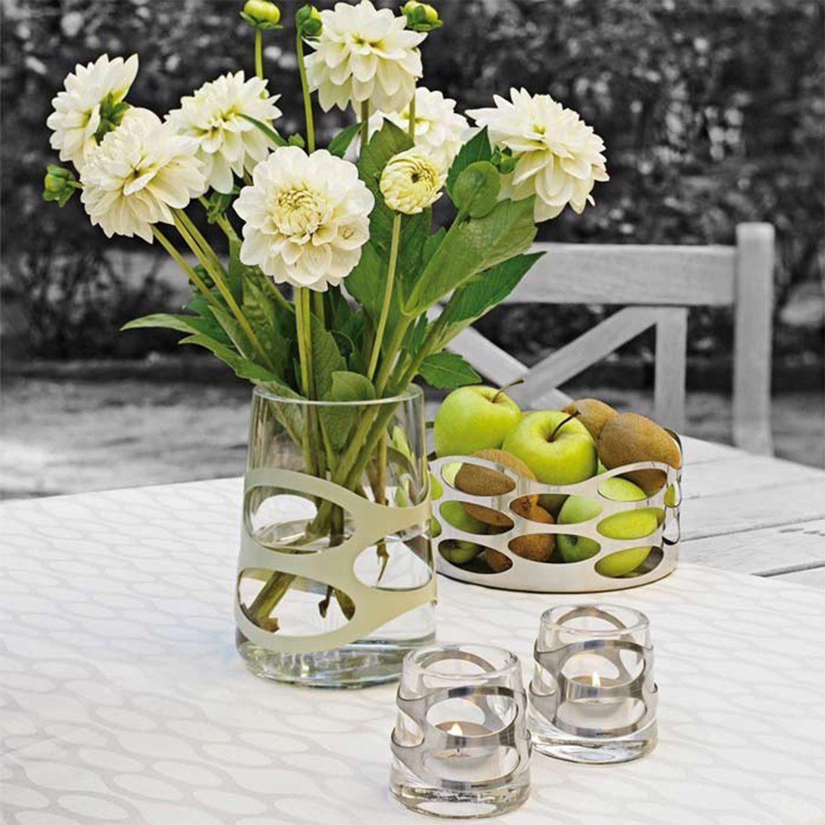 Stelton Stelton Vase EMBRACE olive 16.5cm