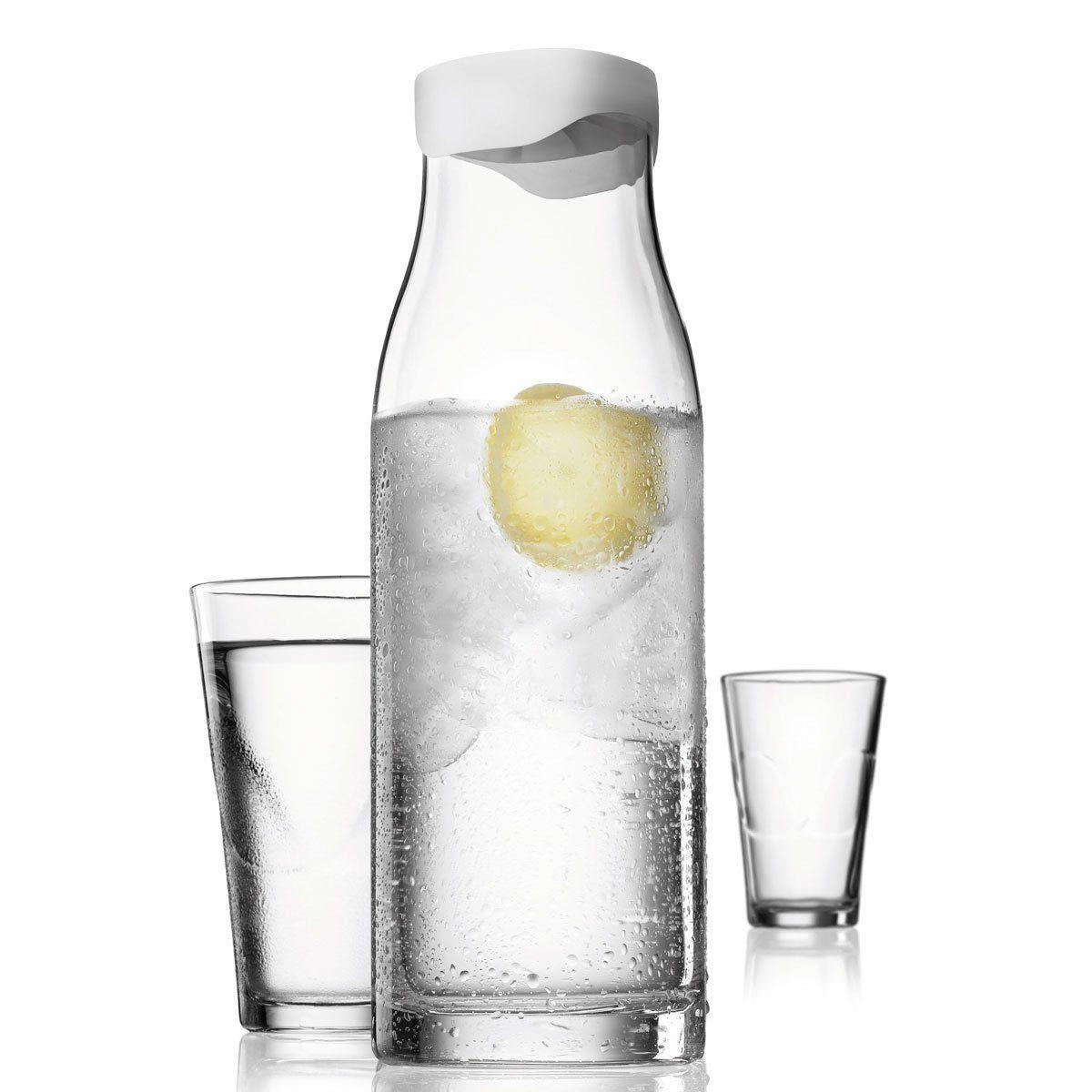 MENU Menu Set Karaffe 1L mit 2 Gläsern