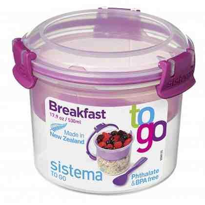 sistema sistema Box Breakfast To Go 0.53 l, pink