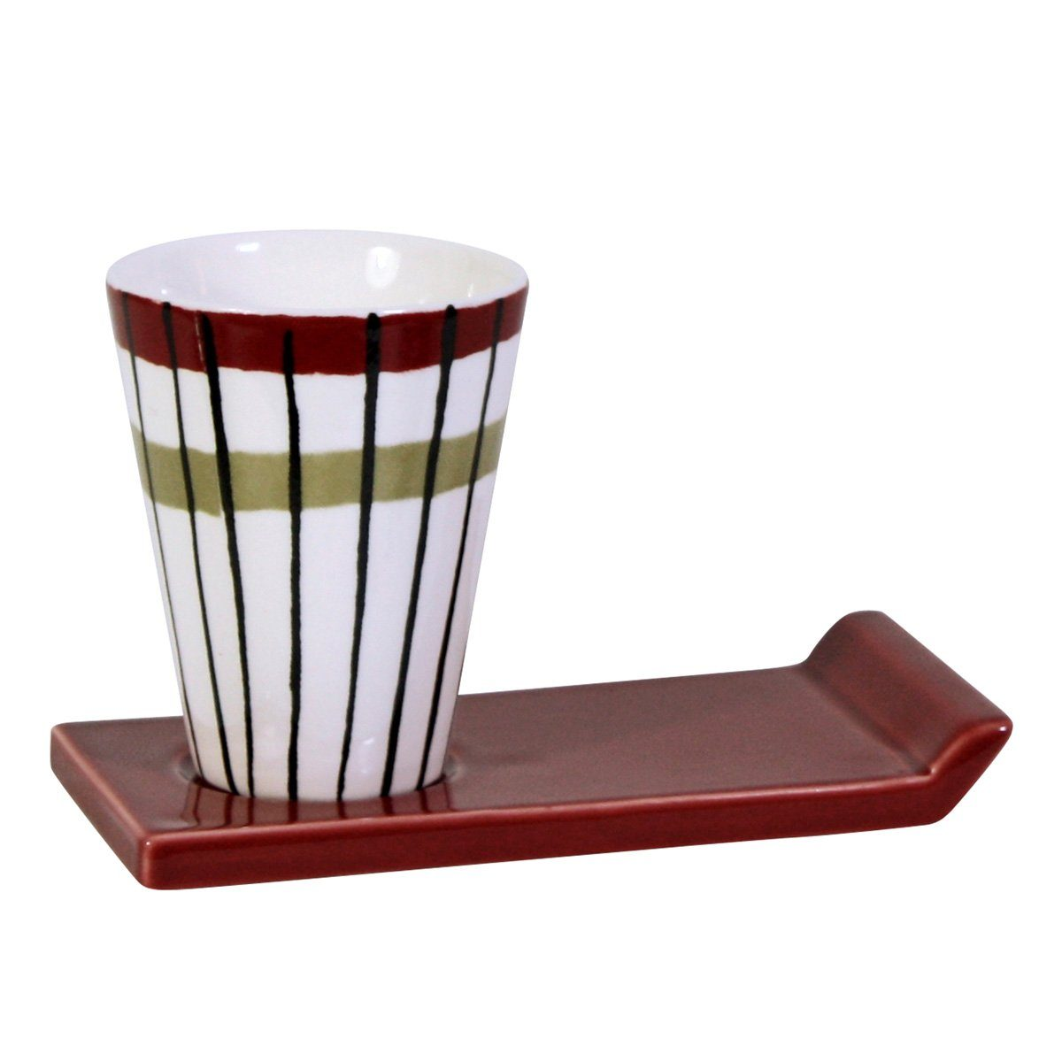 CULTDESIGN Cult Design Glühwein Becher Retro gestreift