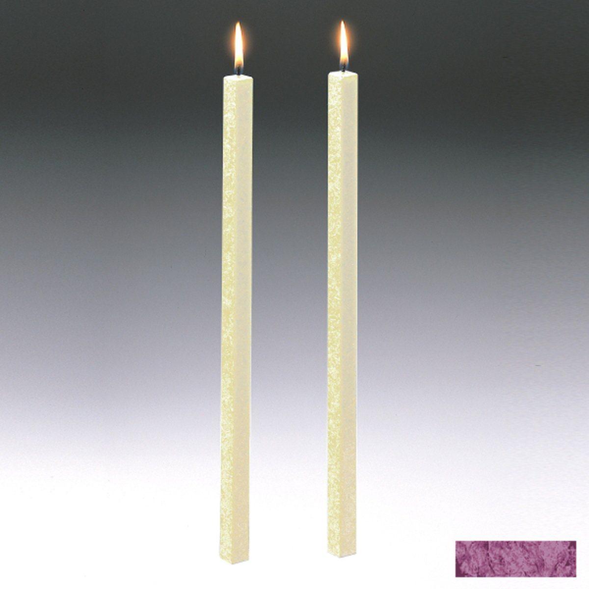 Amabiente Amabiente Kerze CLASSIC Purpur 40cm - 2er Set