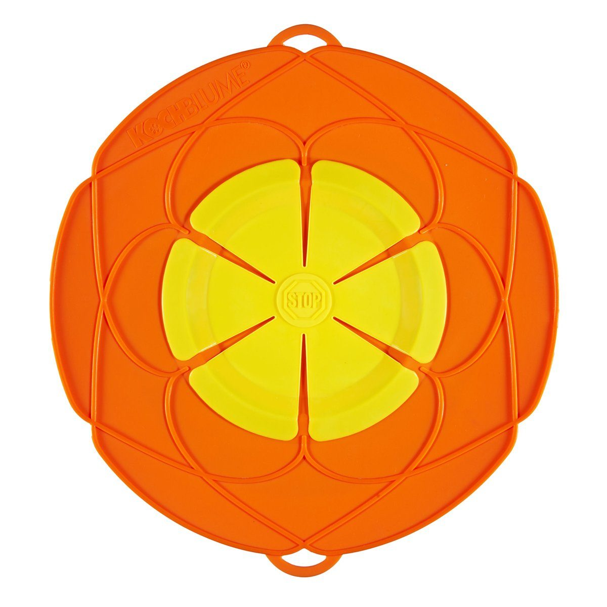 Kochblume Kochblume Überkochschutz orange 29 cm