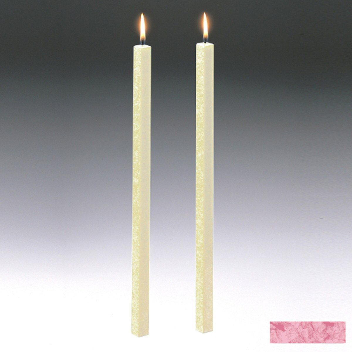 Amabiente Amabiente Kerze CLASSIC Rose 40cm - 2er Set