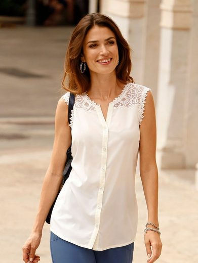 In Dress Shirt With Lace