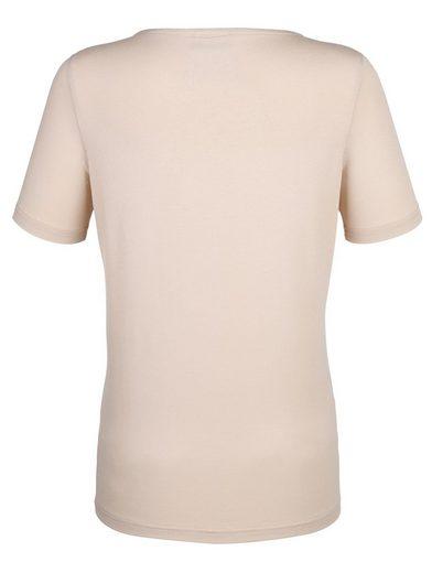 Dress In Shirt mit einzigartigem Druck