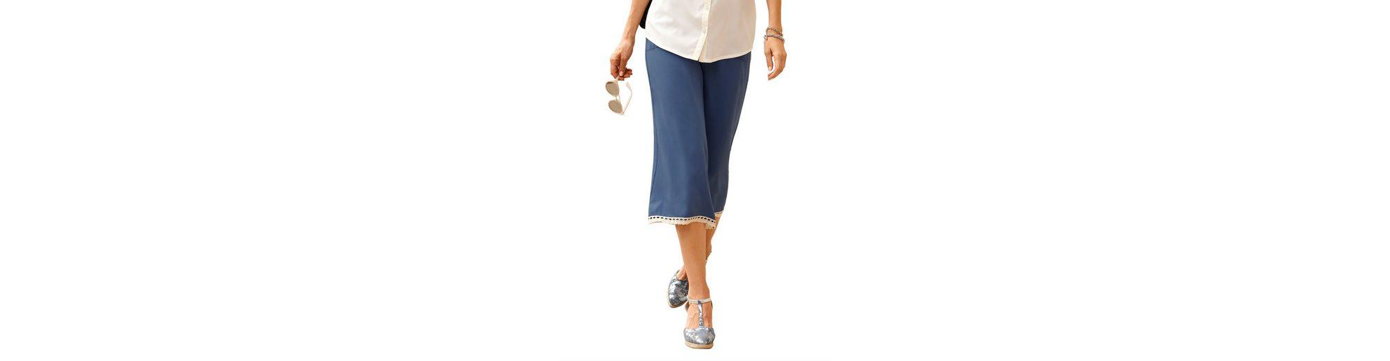 Dress In Culotte mit modischem Spitzenband Verkauf Ausgezeichnet 2018 Neue Geringster Preis Die Kostenlose Versand Hochwertiger Verkauf Manchester azOptTa5