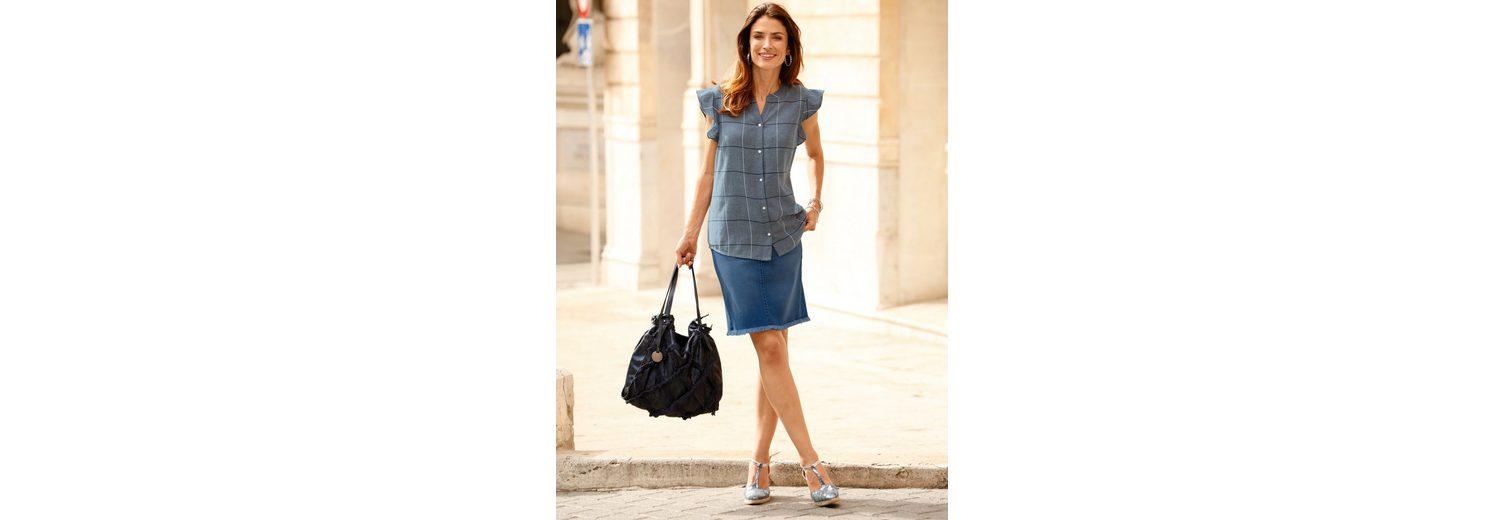 Qualität Aus Deutschland Billig Dress In Jeansrock mit Waschung Verkauf Günstiger Preis Neuester Günstiger Preis Rabatte Günstiger Preis UrLf3y7ehu