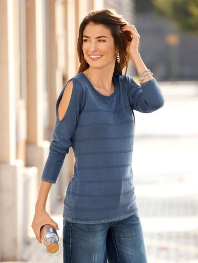 Dress In Pullover mit Cut-Outs