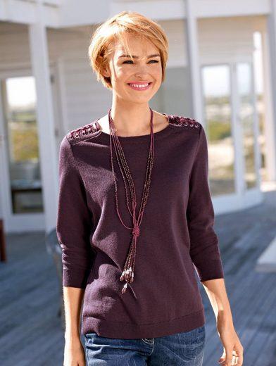 Dress In Pullover mit dekorativer Schnürung