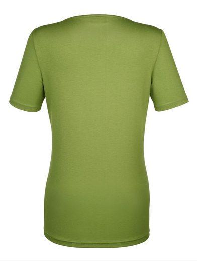Dress In Shirt mit floralem sommerlichen Druck