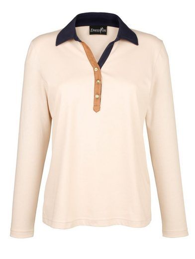 Dress In Shirt With Polo Collar