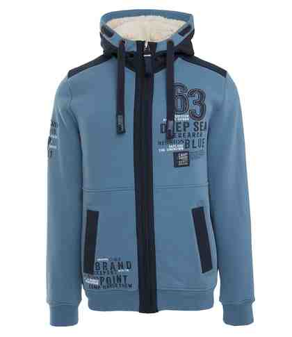 CAMP DAVID Kapuzensweatjacke