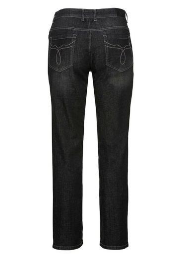 sheego Denim Stretch-Jeans, 5-Pocket-Stil