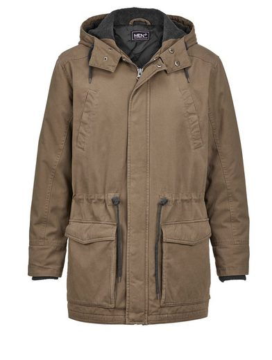 Men Plus by Happy Size Parka mit Kapuze