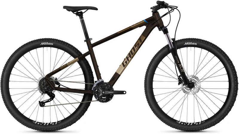 Ghost Mountainbike »Kato Universal 29 AL U 29 Zoll MTB«, 27 Gang Shimano Alivio SGS Schaltwerk, Kettenschaltung