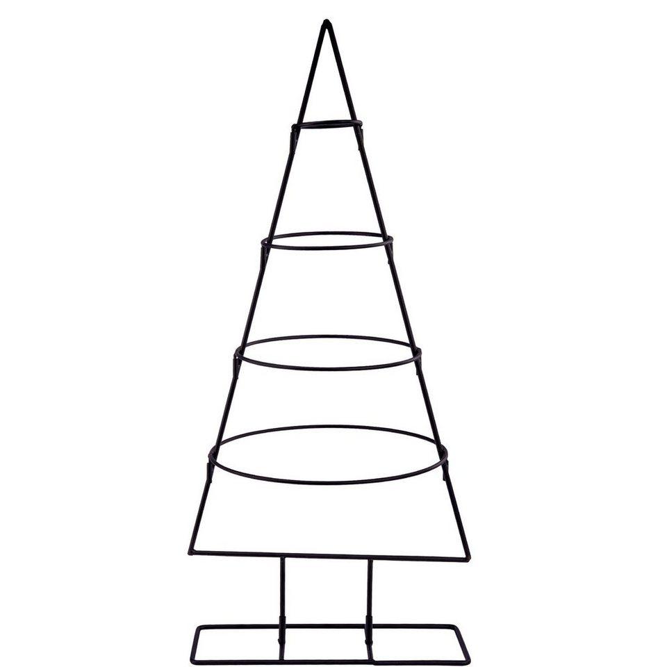 weihnachtsbaum metall design metall weihnachtsbaum mit clips tedi shop deko weihnachtsbaum. Black Bedroom Furniture Sets. Home Design Ideas
