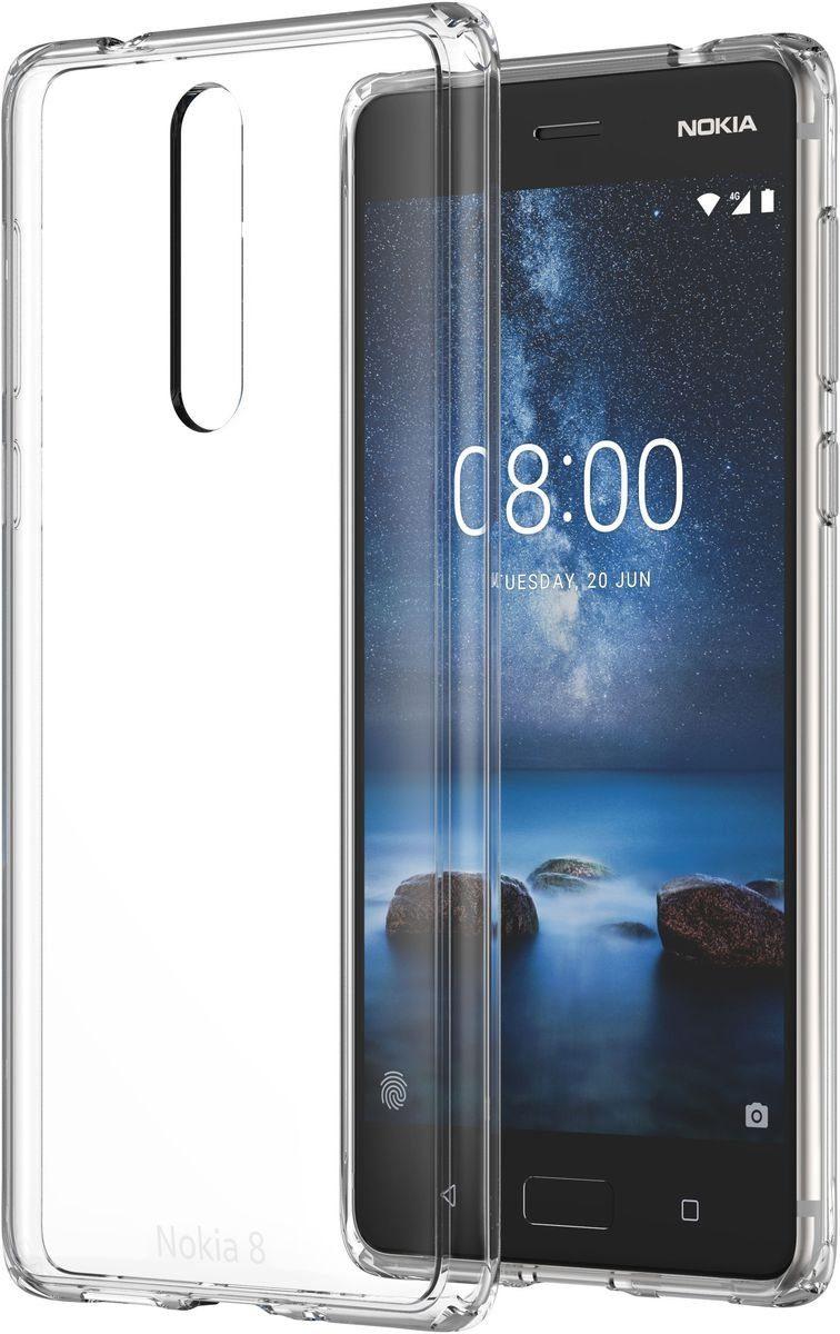 Nokia Handytasche »Hybrid Crystal Case CC-701 für 8«