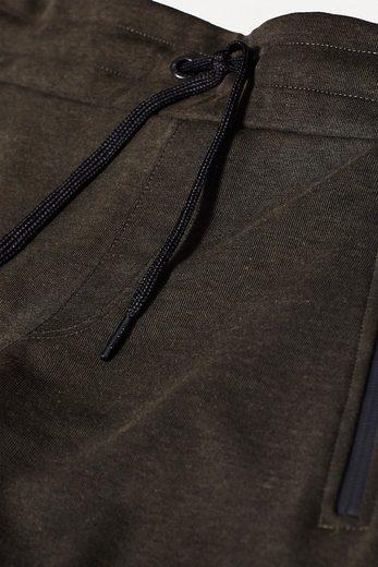 EDC BY ESPRIT Sweat-Pants mit Zipper-Detail