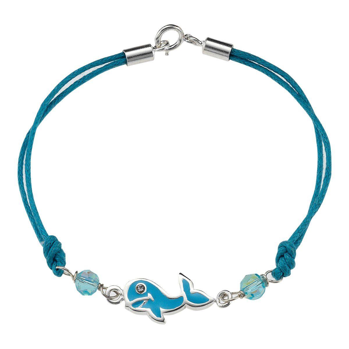 Zeeme Armband »Kinderarmband Textil Delfin«