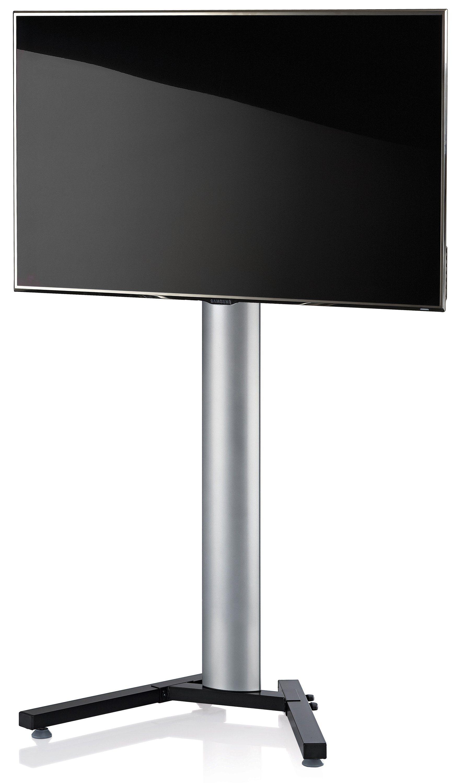 VCM TV-Standfuß ´´Stadino Maxi Silber´´ | Wohnzimmer > TV-HiFi-Möbel > Ständer & Standfüße | Silber | Aluminium - Stahl | VCM