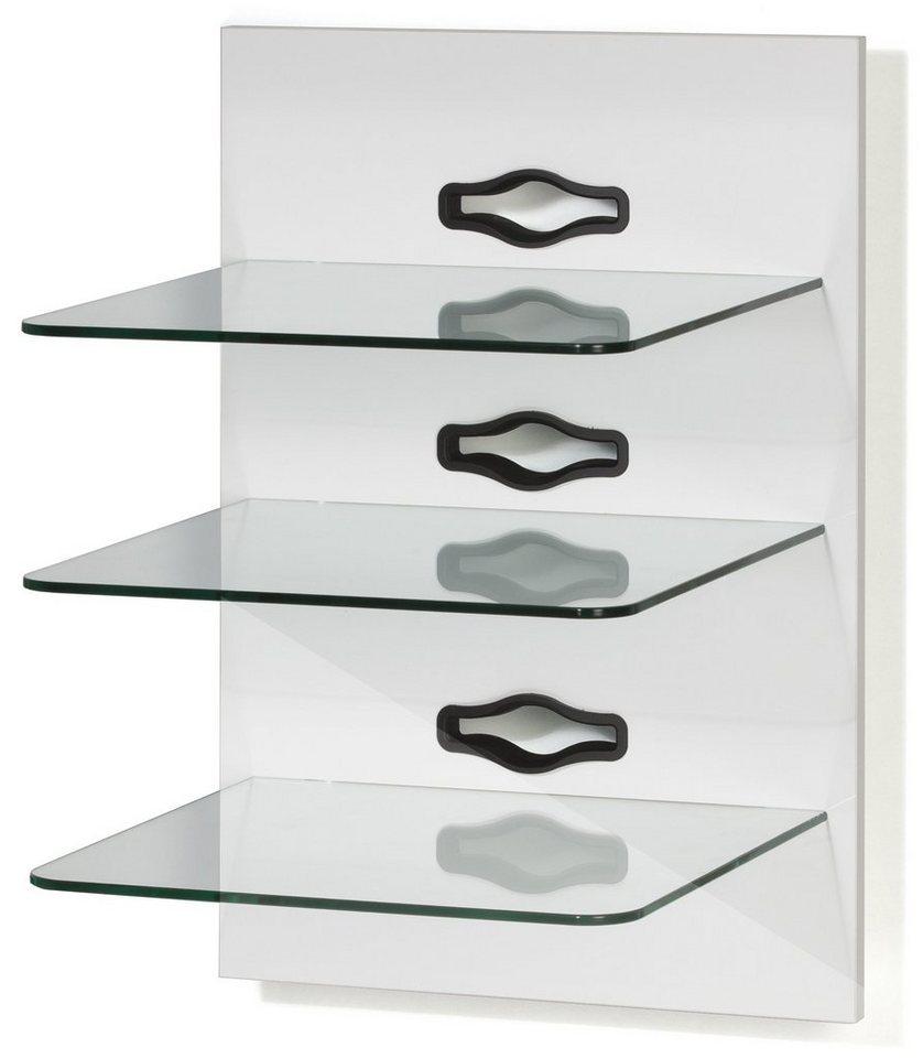 Vcm hifi paneel xeno 3 klarglas online kaufen otto - Wandregal hifi ...