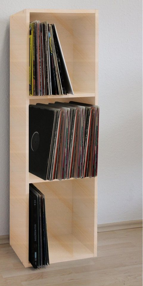 vcm schallplatten regal platto online kaufen otto. Black Bedroom Furniture Sets. Home Design Ideas