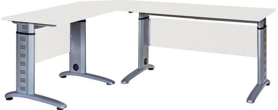 Vcm 3 Tlg Schreibtisch Set Braso 220 Kaufen Otto