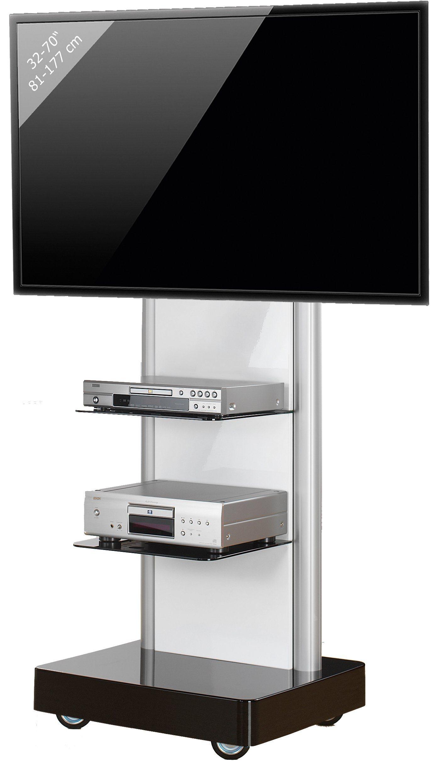 VCM TV-Standfuß ´´ProStand´´ | Wohnzimmer > TV-HiFi-Möbel > Ständer & Standfüße | Melamin - Aluminium - Holzwerkstoff | VCM