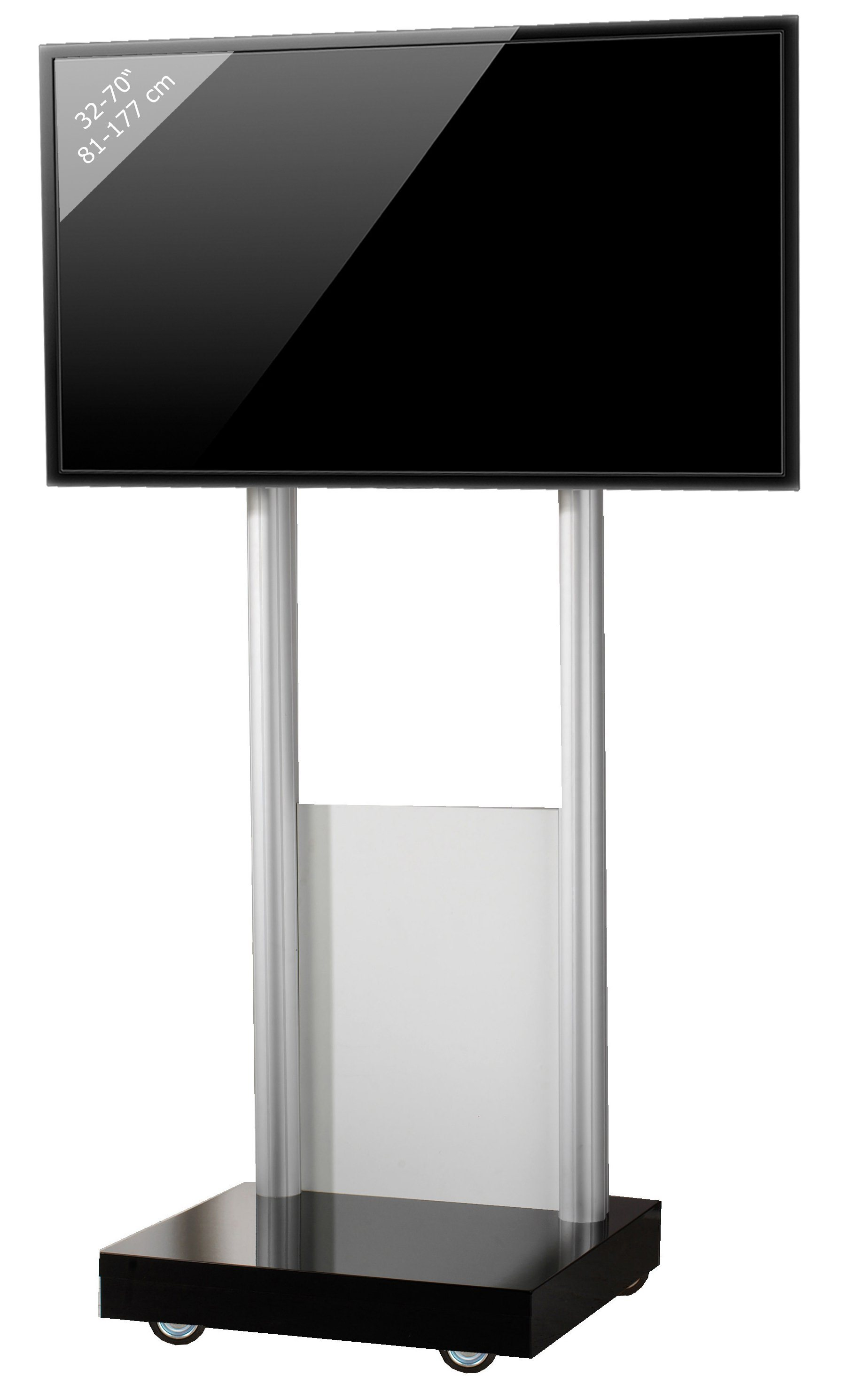 VCM TV-Standfuß ´´Monte Visolo 1´´ | Wohnzimmer > TV-HiFi-Möbel > Ständer & Standfüße | Melamin - Aluminium - Holzwerkstoff | VCM