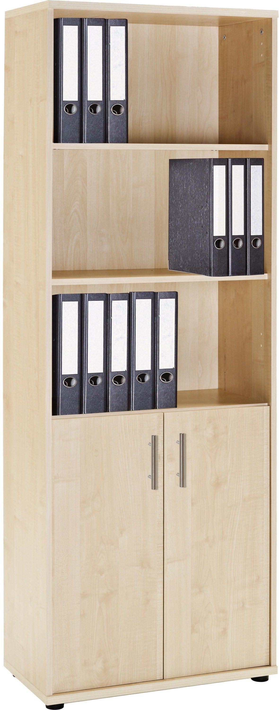 VCM Aktenschrank ´´Braso 268´´ | Büro > Büroschränke > Aktenschränke | Edelstahloptik | Nachbildung | VCM