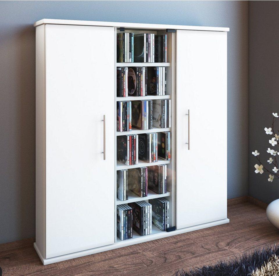 vcm cd dvd schrank santo online kaufen otto. Black Bedroom Furniture Sets. Home Design Ideas