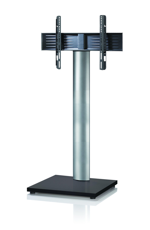 VCM TV-Standfuß ´´Onu Mini ´´Schwarzlack | Wohnzimmer > TV-HiFi-Möbel > Ständer & Standfüße | Silber | Aluminium - Mdf - Lackiert | VCM