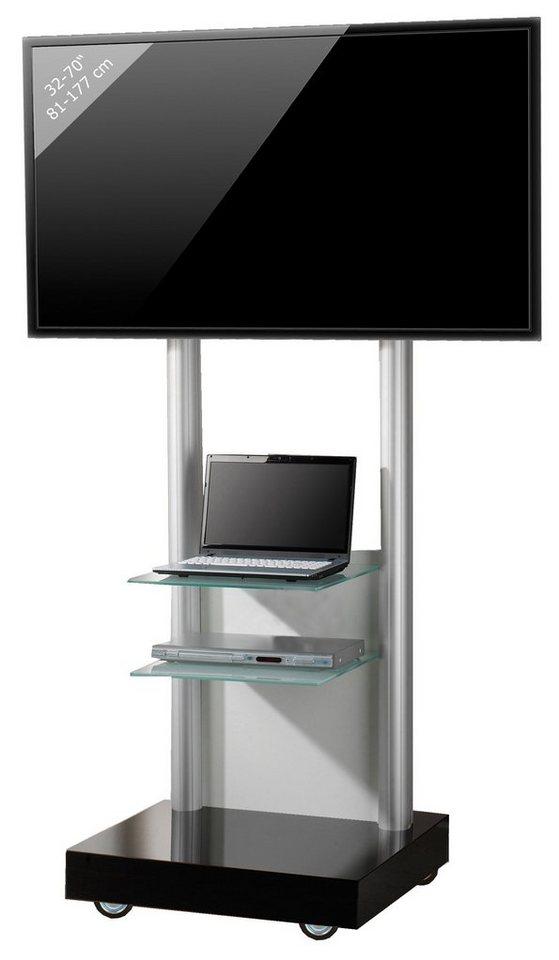 VCM TV - Standfuß ´´Monte Visolo 3´´ | Wohnzimmer > TV-HiFi-Möbel > Ständer & Standfüße | Melamin - Aluminium - Holzwerkstoff | VCM