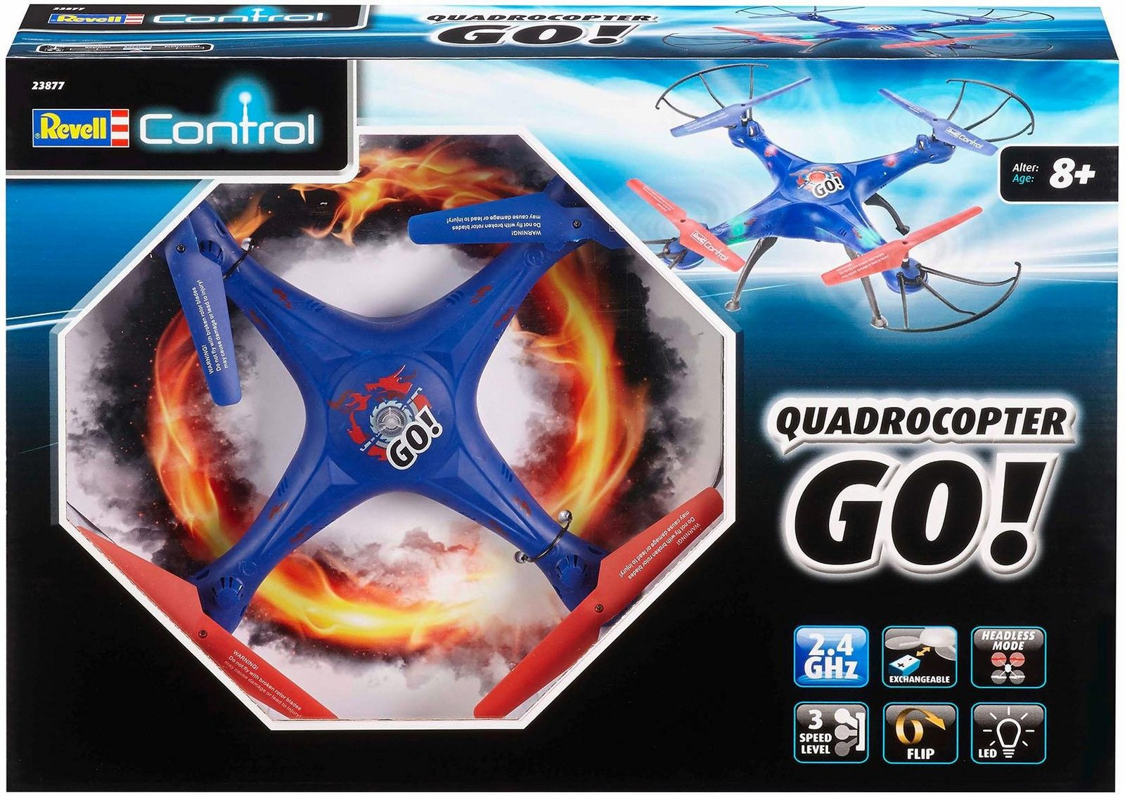 Revell RC Quadrocopter, »Revell control, GO!, 2,4 GHz« - broschei