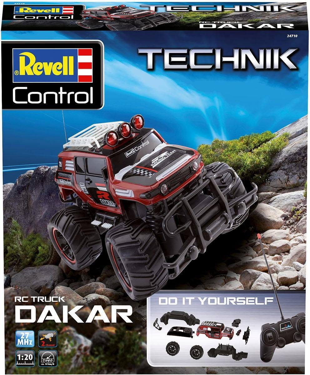 Revell RC Auto Bausatz, »RC Construction Kit Car Dakar, 27 MHz, 1:20«