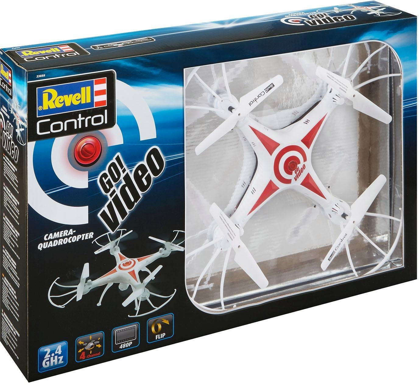 RC Drohne mit Kamera: Revell® control, Go! Video*