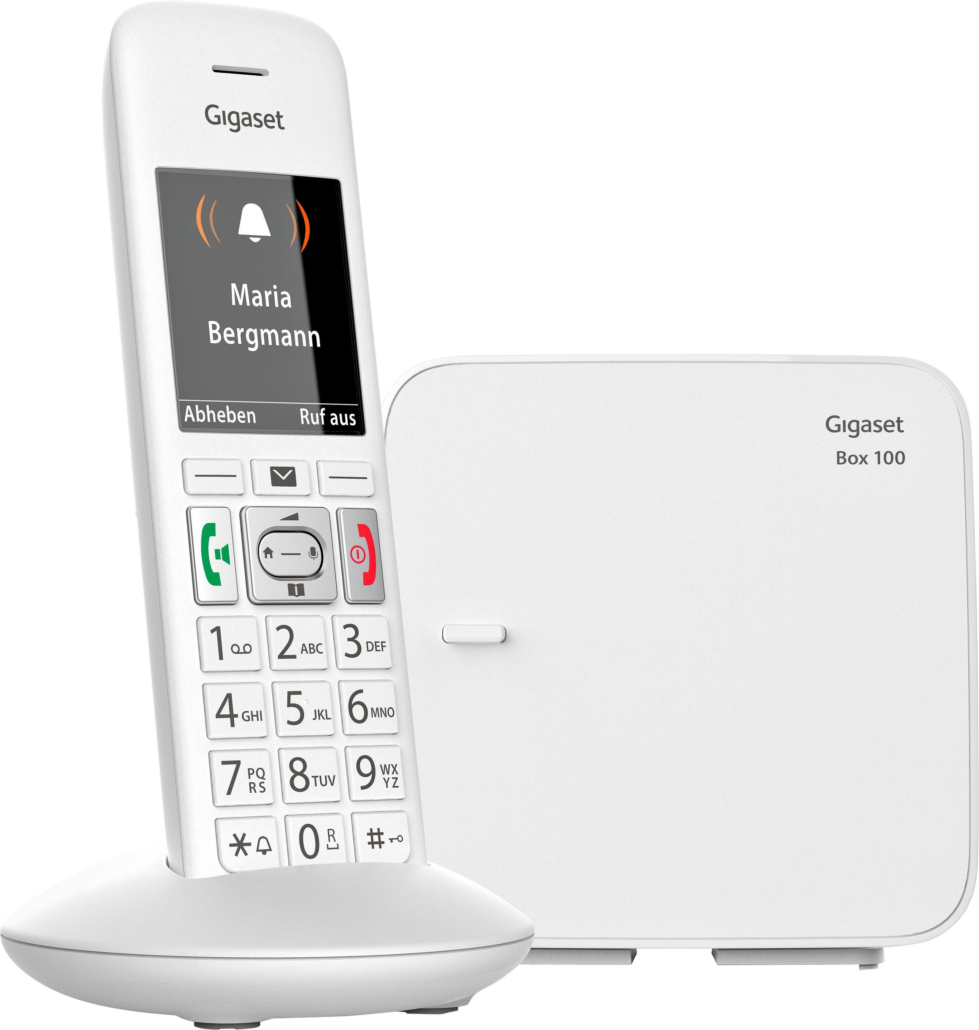 Gigaset »E370« Schnurloses DECT-Telefon (Mobilteile: 1)