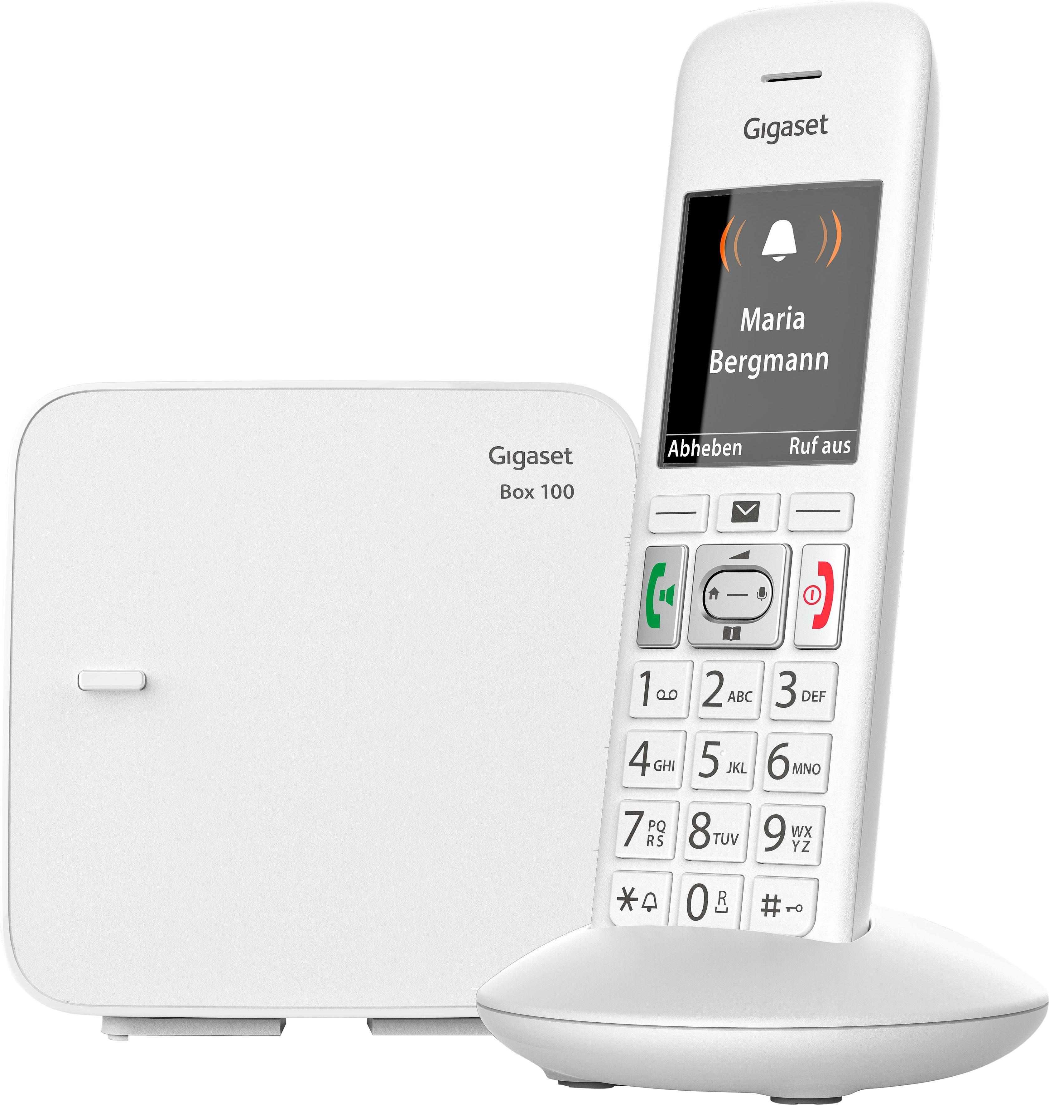 Gigaset E370 Schnurloses DECT Telefon