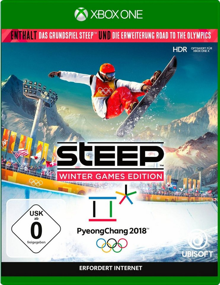 steep winter games edition xbox one online kaufen otto. Black Bedroom Furniture Sets. Home Design Ideas