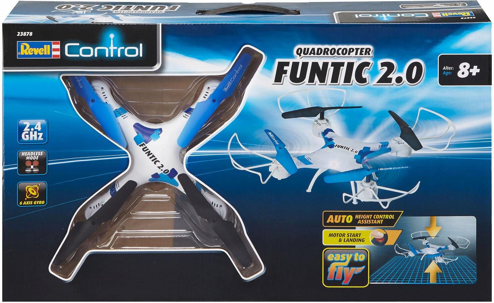 Revell RC Quadrocopter, »Revell control, Funtic 2.0, 2,4 GHz« - broschei